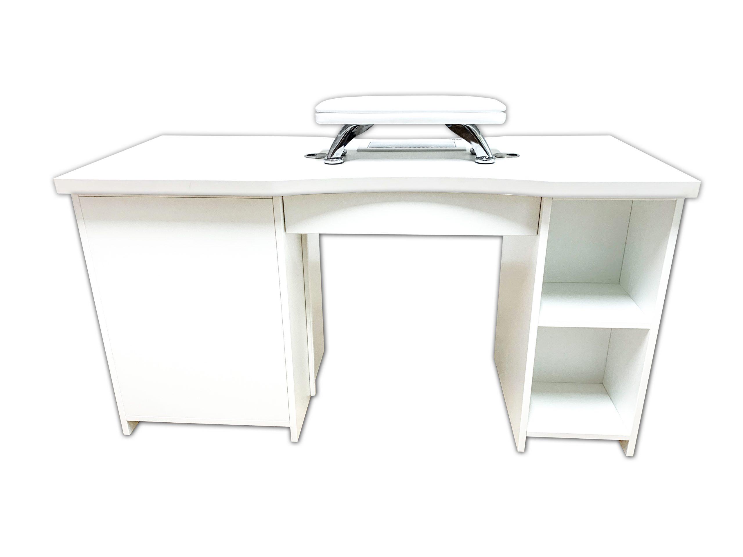 Manikérsky stôl BASIC - odsávanie + filter v skrinke