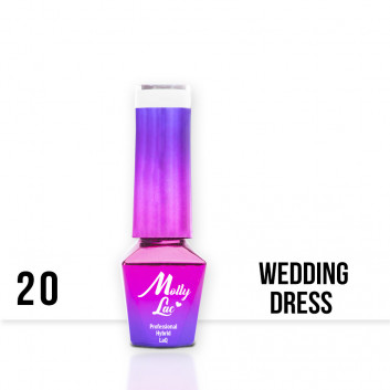 Molly Lac gél lak WEDDING 20 5ml