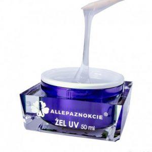 Allepaznokcie - stavebný UV gél Clear 50 ml