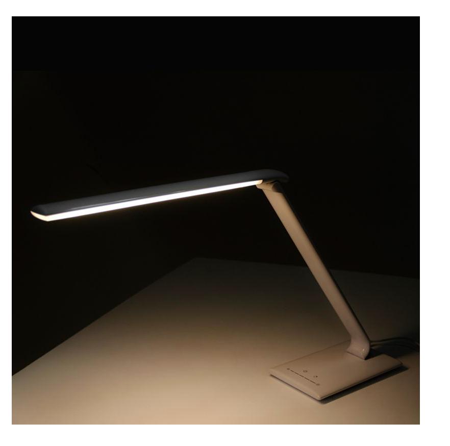 LAMPA LED NA STÔL ELEGANTE 7W BIELA