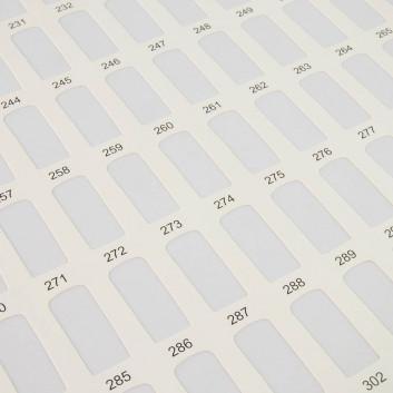 Vzorkovník na nechty Kniha 308typov