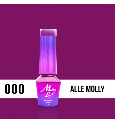 MOLLY LAC gél lak 000 5ml MAGENTA