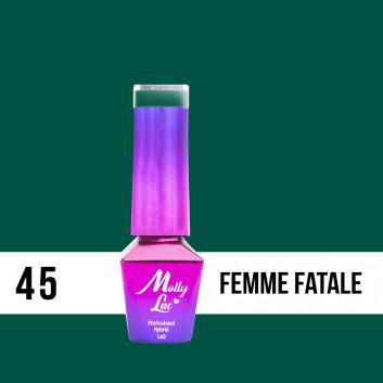 Molly Lac gél lak FEMME FATALE 5ml
